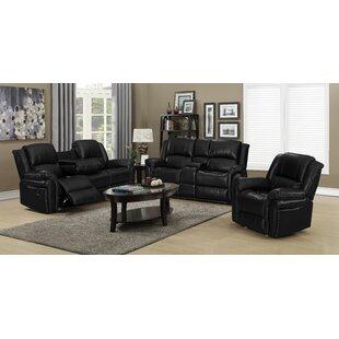 Nermin 3 Piece Reclining Living Room Set by Red Barrel Studio®