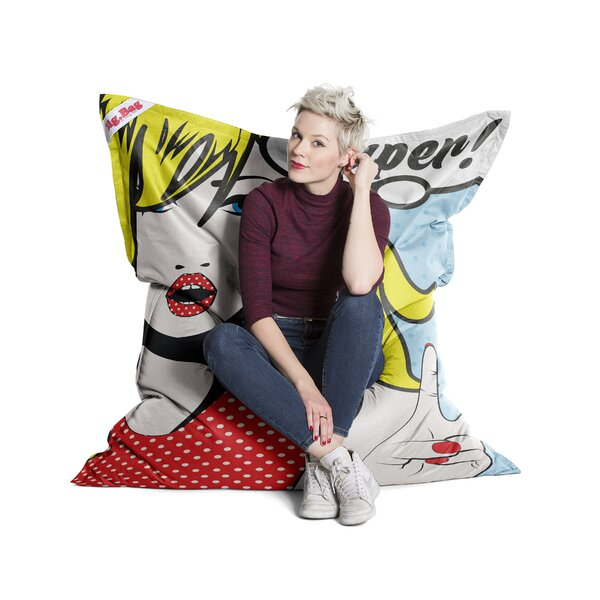 Pop Art Bean Bag Chair by Latitude Run