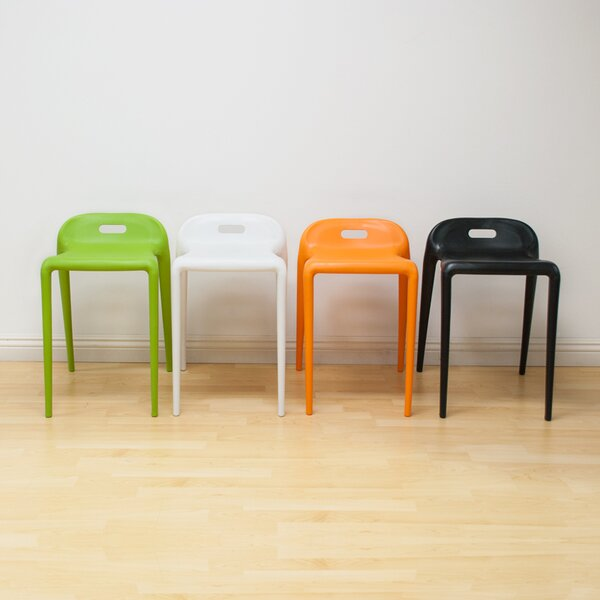 Armless E-Z Stacking Chair (Set of 2) by Mod Made