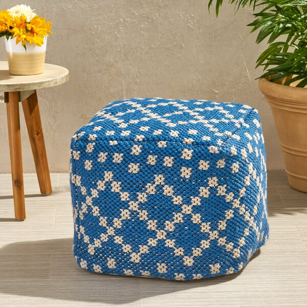 Paschall Boho Outdoor Ottoman by Breakwater Bay
