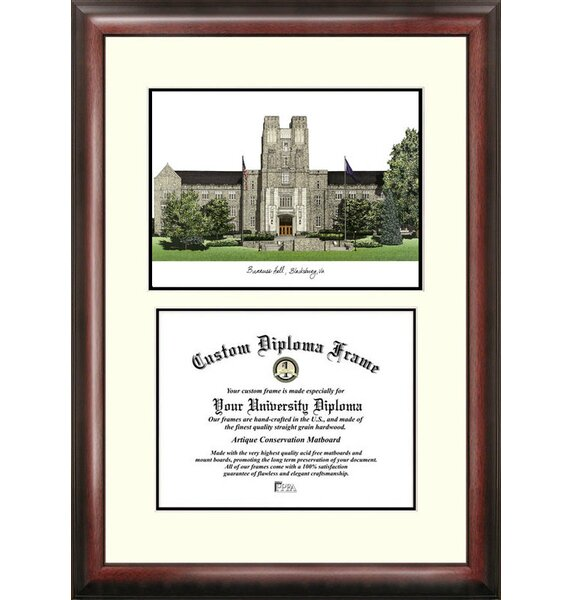 NCAA Virginia Tech Scholar Diploma Picture Frame by Campus Images