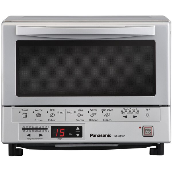 Flash Express Toast Oven with Double Infrared Heating by Panasonic®