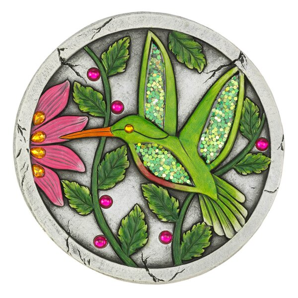 Mabery Hummingbird Garden Stepping Stone by Winston Porter