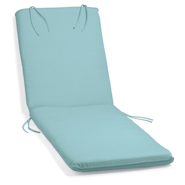 Indoor/Outdoor Sunbrella Chaise Lounge Cushion By Beachcrest Home