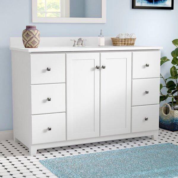 Rosalynn 2-Door 49 Single Bathroom Vanity by Ebern Designs