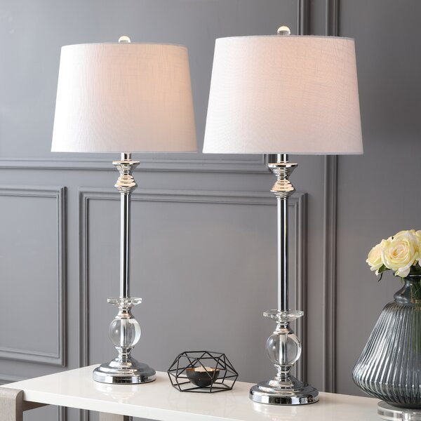 Larocco 2 Piece Table Lamp Set by House of Hampton