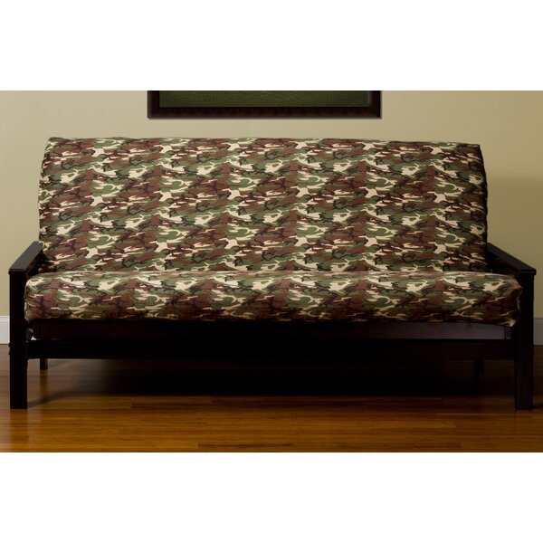 Washable Zipper Box Cushion Futon Slipcover by Latitude Run