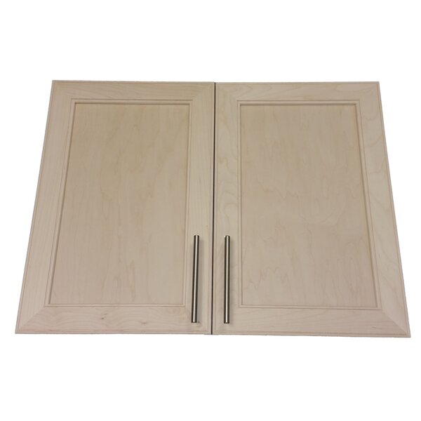 Village 31 W x 23.5 H Wall Mounted Cabinet by WG Wood Products