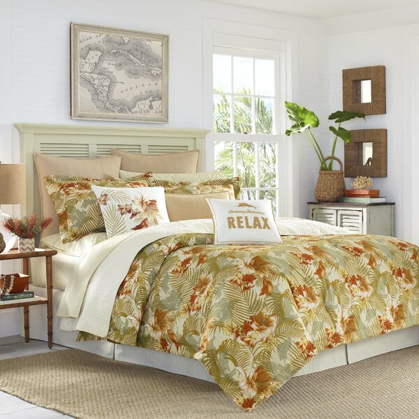 Loredo Gardens Reversible Duvet Cover Set by Tommy Bahama Home