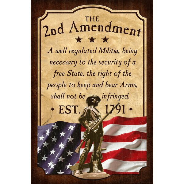 2nd Amendment Vintage Advertisement by Reflective Art