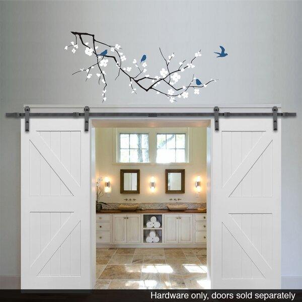 Double Barn Door Hardware (Set of 2) by Verona Home Design
