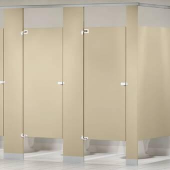 Bradley Corporation Baked Enamel Corner Mounted Toilet Partition Wayfair