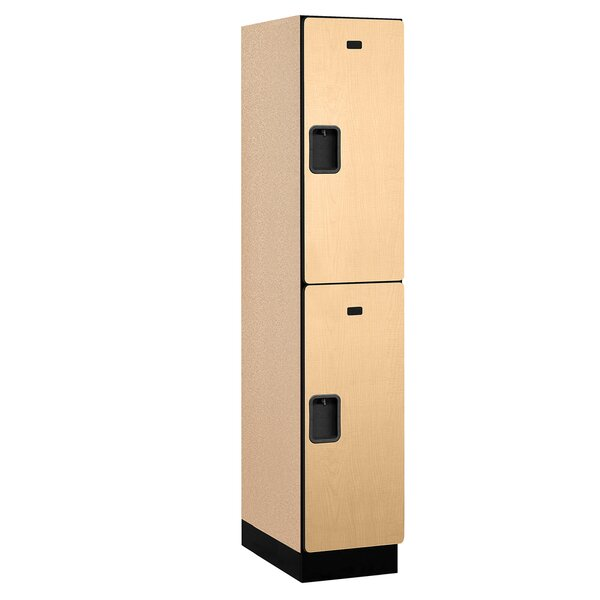 2 Tier 1 Wide School Locker by Salsbury Industries2 Tier 1 Wide School Locker by Salsbury Industries