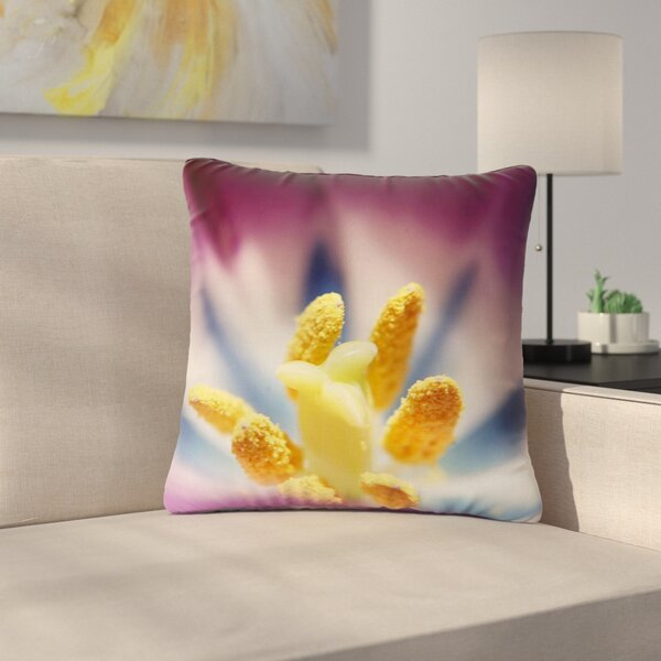 Angie Turner Tulip Outdoor Throw Pillow by East Urban Home