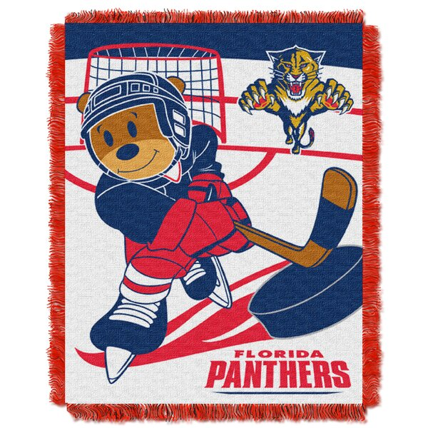 NHL Panthers Baby Woven Throw Blanket by Northwest Co.