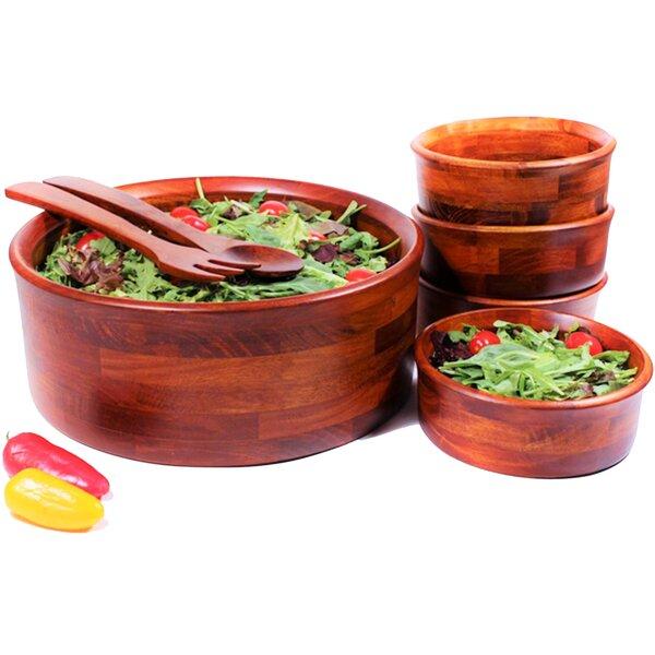 Argan 7 Piece Salad Bowl Set by Mint Pantry