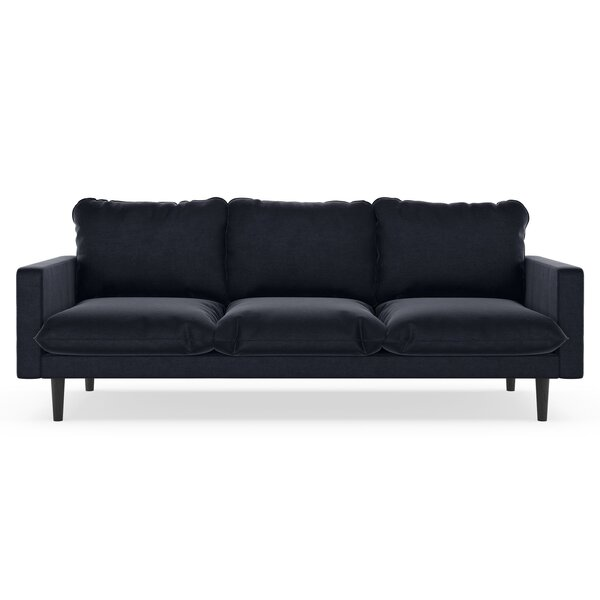 New Collection Simon Mod Velvet Sofa Can't Miss Bargains on