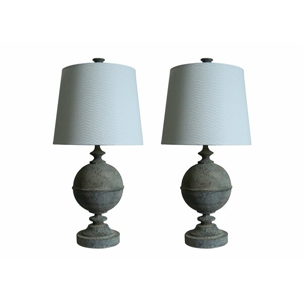 Rochelle 25 Table Lamp (Set of 2) by Urbanest