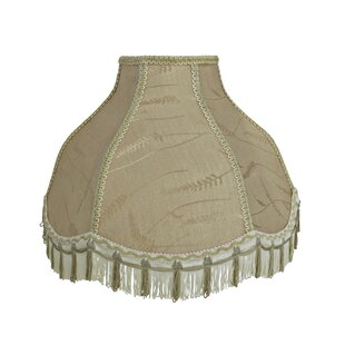 Reviews Transitional Scallop 17 Fabric Bell Lamp Shade By Astoria Grand