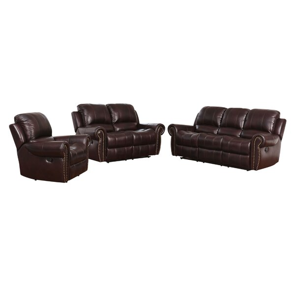 Looking for Barnsdale Reclining 3 Piece Leather Reclining Living Room Set By Darby Home Co New