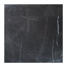 12 x 12 Marble Field Tile in Graphite by Seven Seas