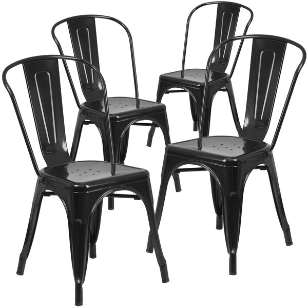 Patio Dining Chair (Set Of 4) By Flash Furniture