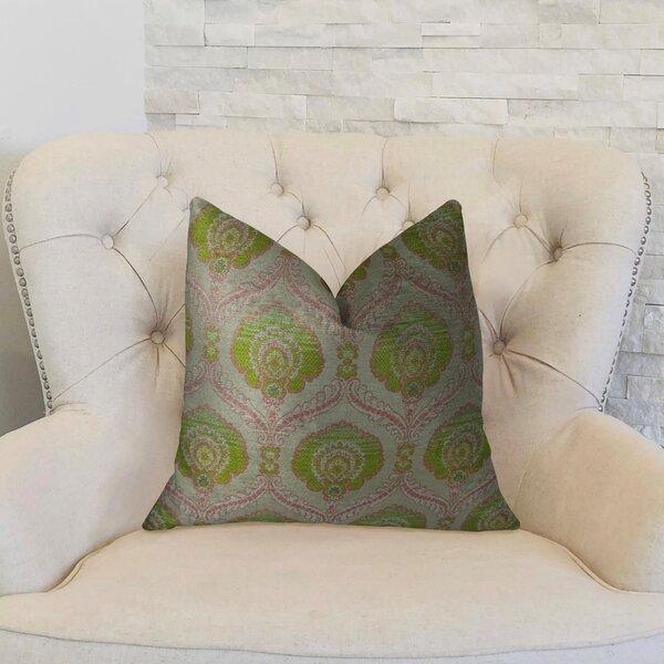 Tulip Handmade Throw Pillow by Plutus Brands