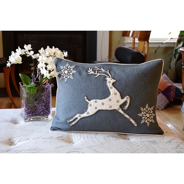 Nothing Like Christmas Lumbar Pillow by Debage Inc.