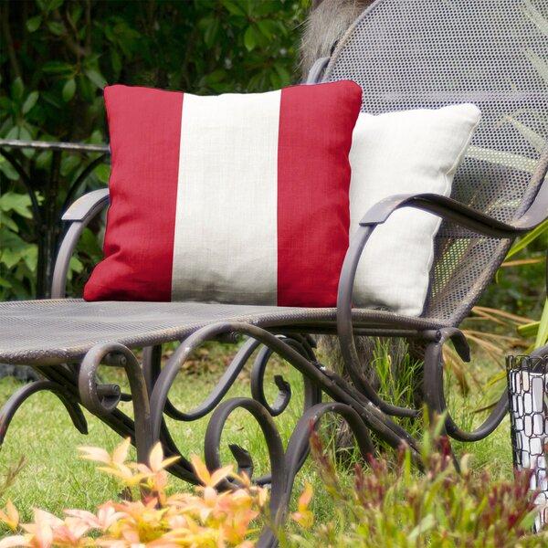 New England Football Indoor/Outdoor Throw Pillow