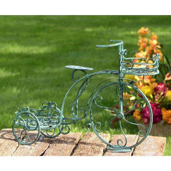 2 Pot Tricycle Plant Stand by Zaer Ltd International