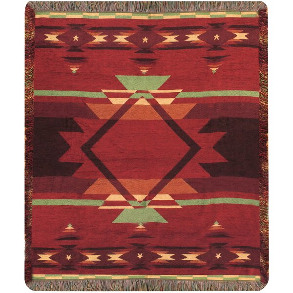 Flame Tapestry Throw by Manual Woodworkers & Weavers