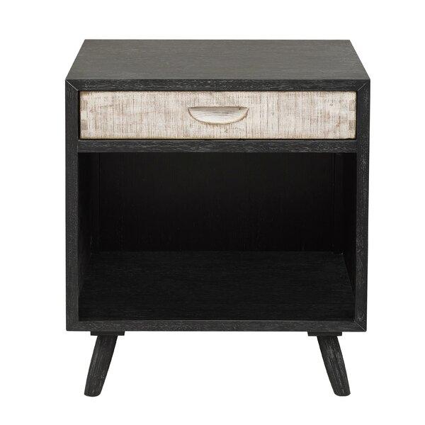 Hehir 1 Drawer Nightstand by Gracie Oaks