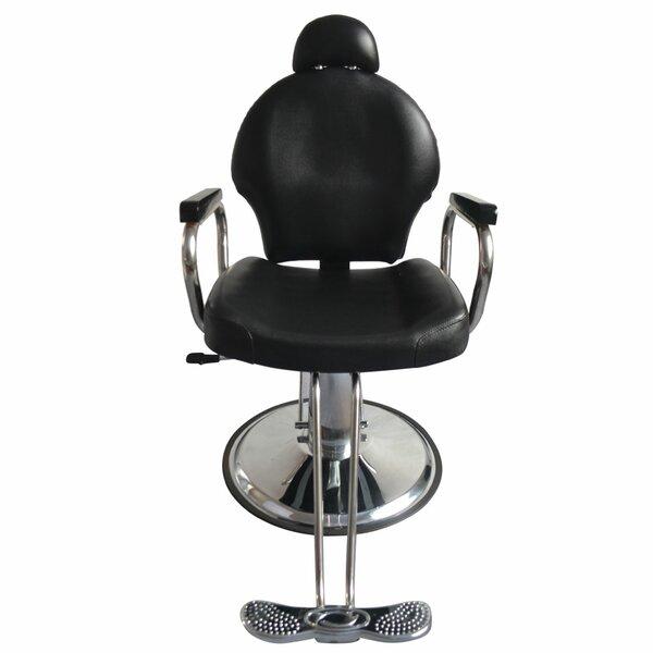 Reclining Hydraulic Barber Massage Chair By Orren Ellis