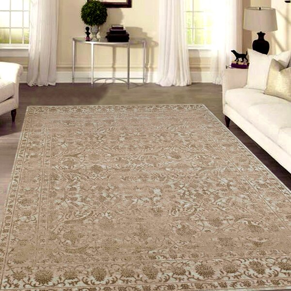 Benson Bone Area Rug by Threadbind