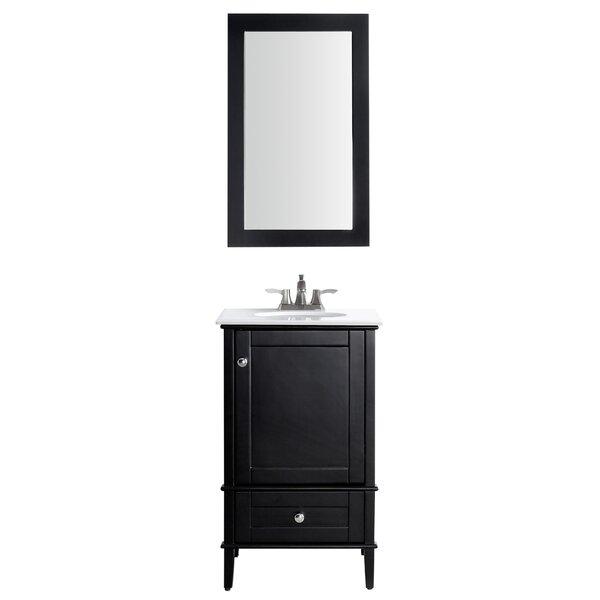 Peckham 21 Single Bathroom Vanity Set with Mirror by Latitude Run