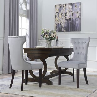 High Back Fabric Dining Chairs | Wayfair