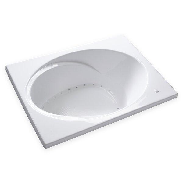 Hygienic Air Massage 60 x 42 Bathtub by Carver Tubs