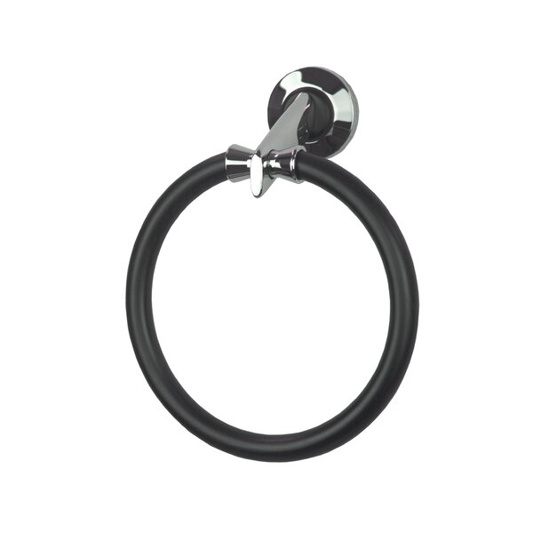 Diva Large Wall Mounted Holder Towel Ring by Hispania Home