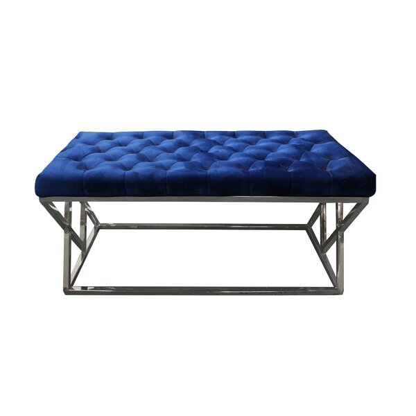 Munz Upholstered Bench by House of Hampton House of Hampton