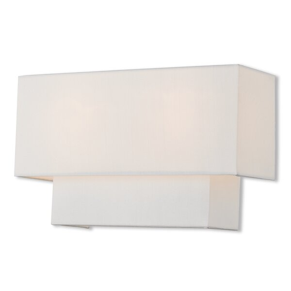 Dundee 2-Light Flush Mount by Ivy Bronx