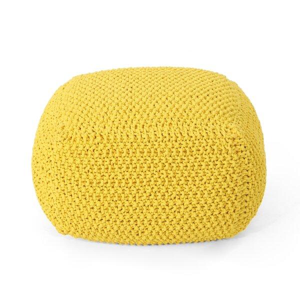 Groner Knitted Pouf by Ebern Designs Ebern Designs