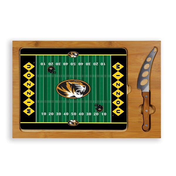 NCAA Football Icon Cutting Cheese Tray by TOSCANA™