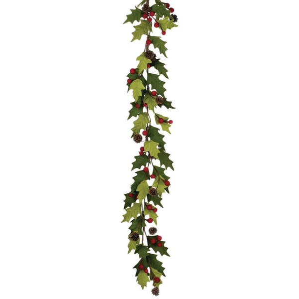 Holly/Berry Garland by Clover Lane
