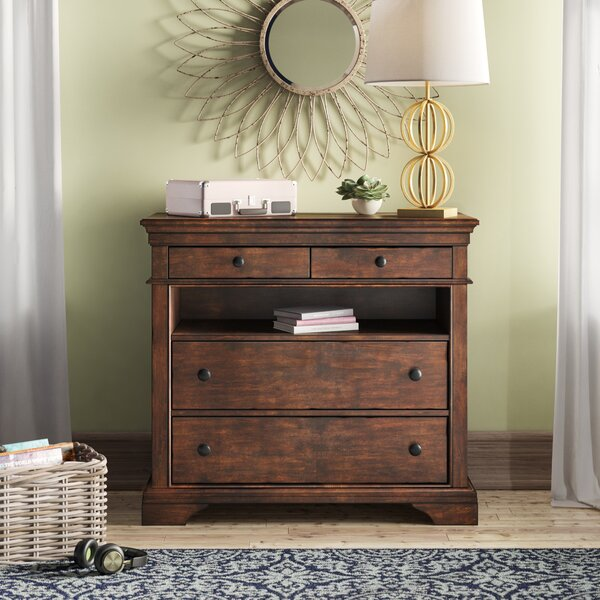 Schaffer 4 Drawer Media Chest By Birch Lane™ Heritage