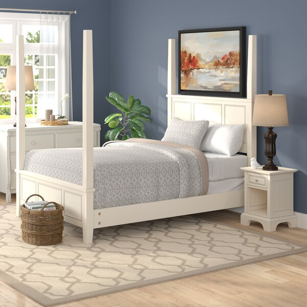 Parks Four Poster 2 Piece Bedroom Set by Birch Lane™