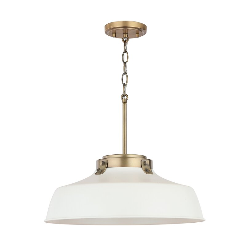 Wrought Studio  1-Light Dome Pendant