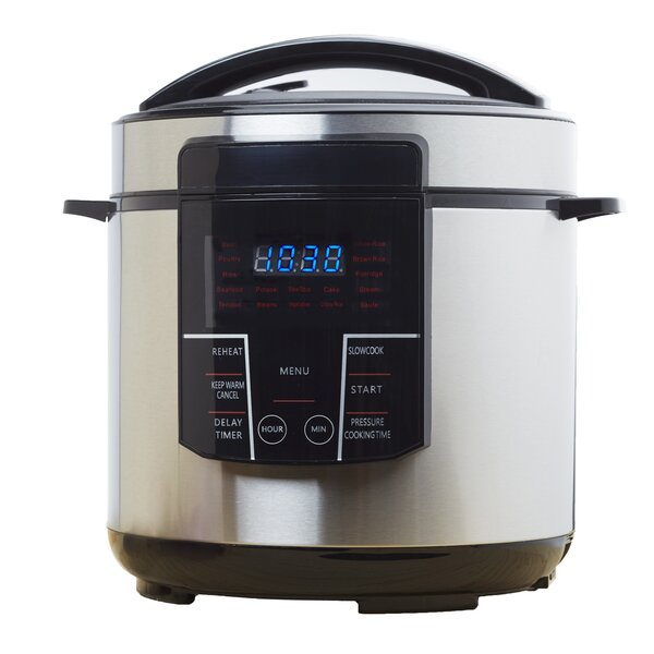 6 Qt. Electric Pressure Cooker by Brentwood Appliances