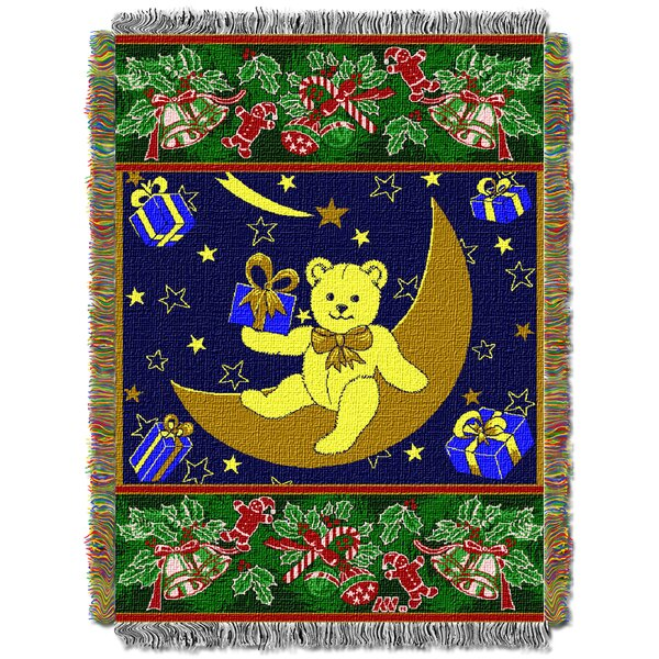 Holiday Bears Throw by Northwest Co.