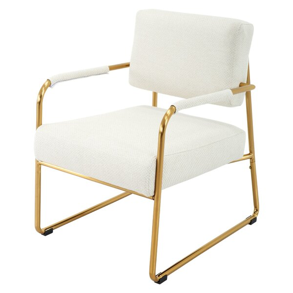 Bridewell Fabric Armchair by Everly Quinn Everly Quinn