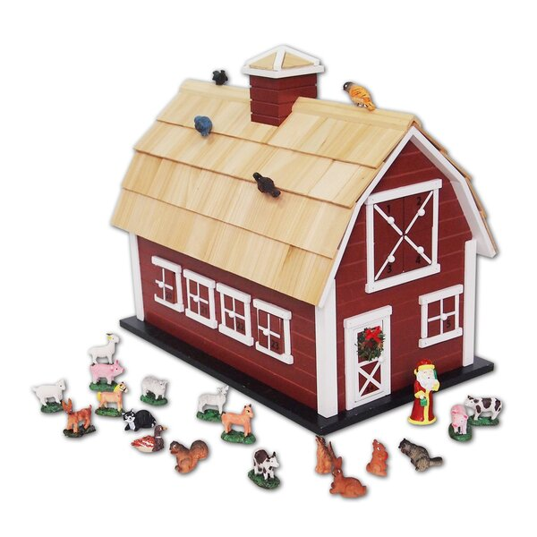 Christmas Barn Advent Calendar by The Holiday Aisle